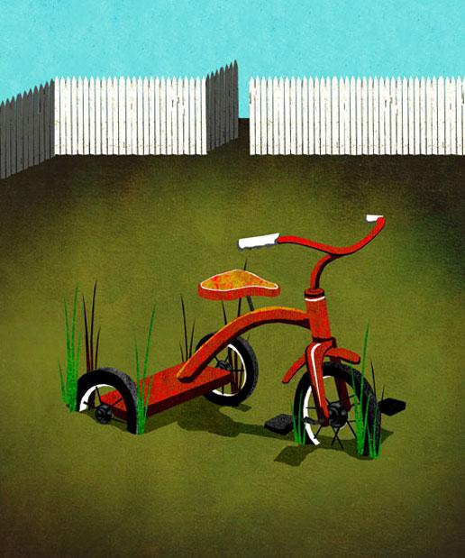 Missing My Child illustration by Brian Stauffer