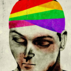 Gay Bashing illustration by Brian Stauffer