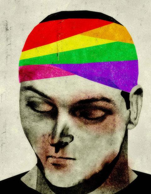 Gay Bashing illustration by Brian Stauffer