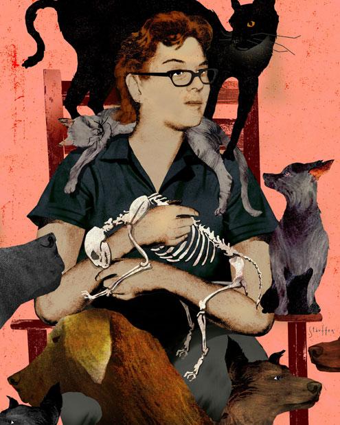 Hoarding Animals illustration by Brian Stauffer