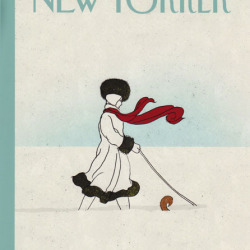 White Out The New Yorker Cover illustration by Brian Stauffer