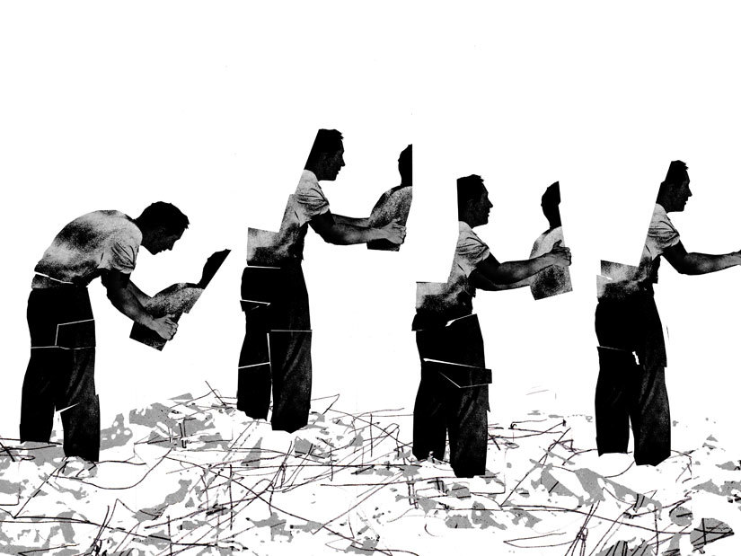 Survivors Helping Survivors illustration by Brian Stauffer