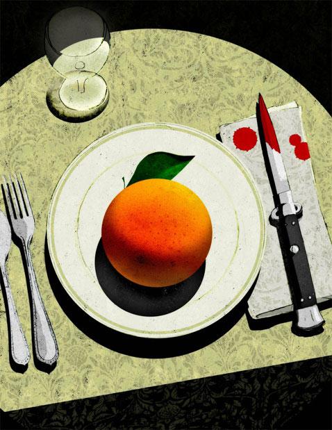 Cafe Noir illustration by Brian Stauffer
