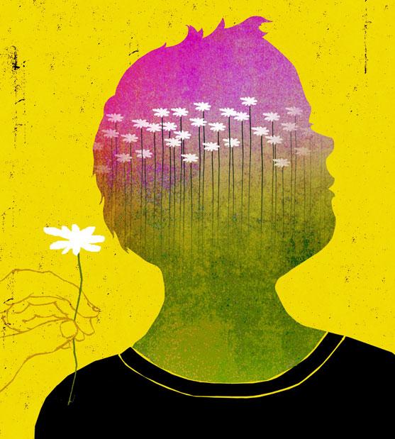 Autism illustration by Brian Stauffer