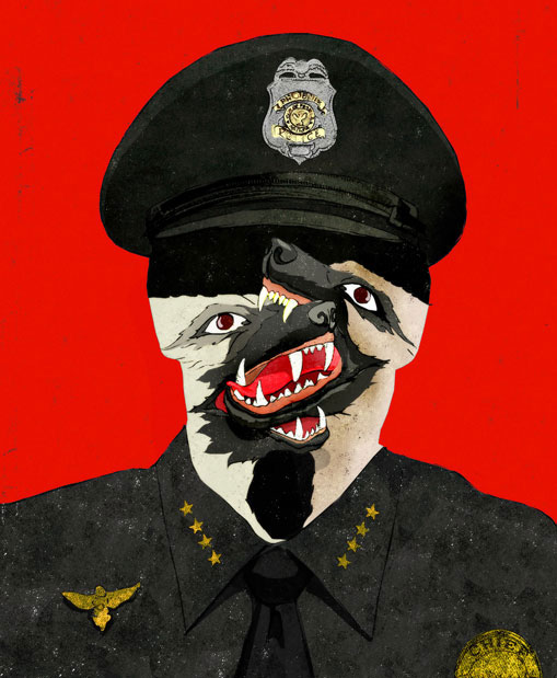 Good Cop Bad Cop illustration by Brian Stauffer
