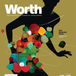 Handmade Luxury Worth Cover illustration by Brian Stauffer