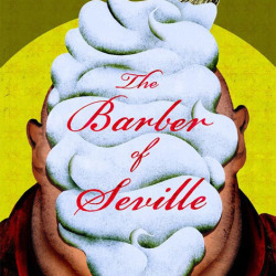 The Barber of Seville Theater Poster by Brian Stauffer