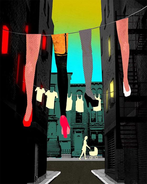 The Brothel Next Door illustration by Brian Stauffer