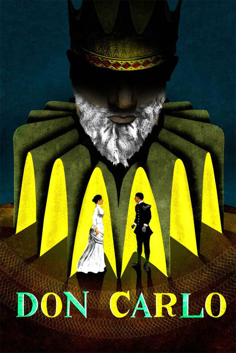 Don Carlo Theater Poster by Brian Stauffer