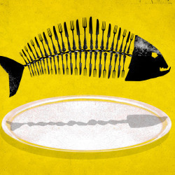 Eating our Oceans illustration by Brian Stauffer