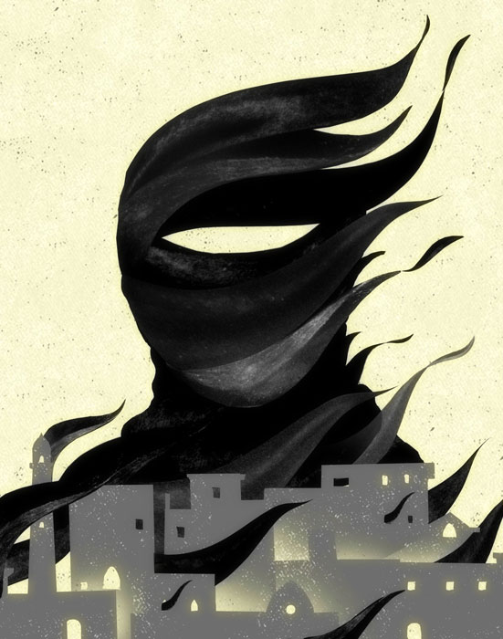Isis illustration by Brian Stauffer