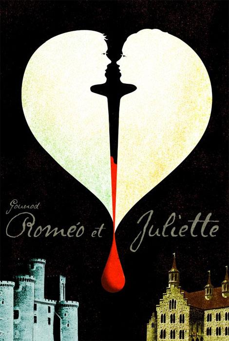 Romeo & Juliet Theater Poster by Brian Stauffer
