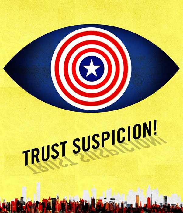 Trust Suspicion illustration by Brian Stauffer