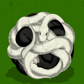 illustration by Brian Stauffer about FIFA Soccer organization corruption