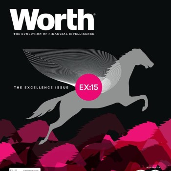 Worth Magazine The Excellence Issue Cover