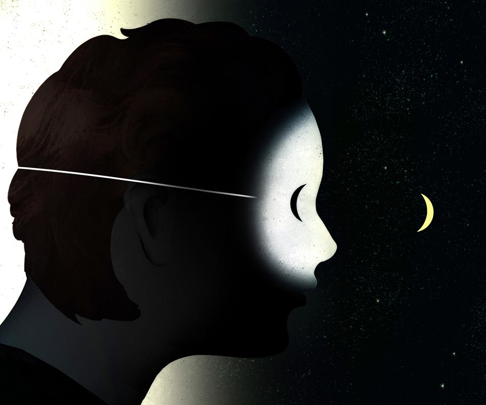 "illustration by Brian Stauffer for New York Times ""Travelers in the Dark"""