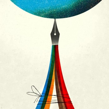 illustration by Brian Stauffer about the Paris Climate Change Talks